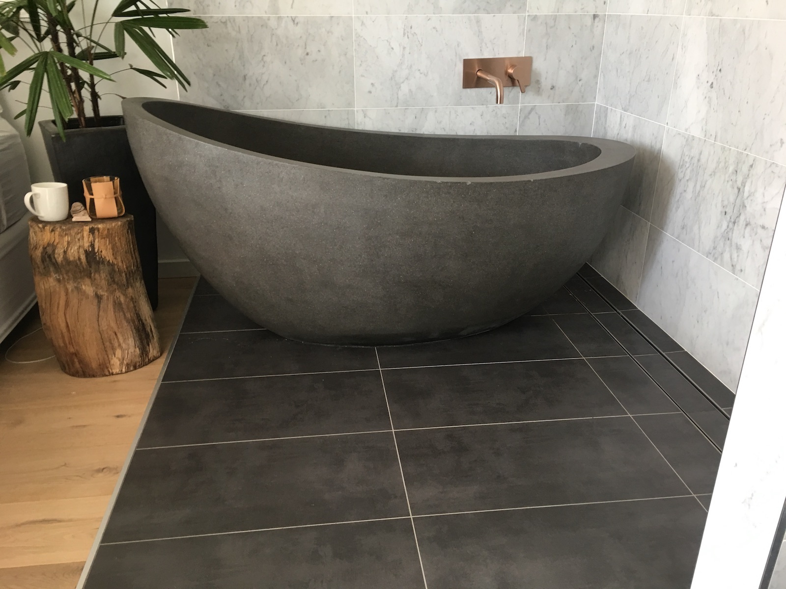 Autumn Stone Bath